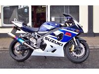 2005 Suzuki GSXR750 K5 Exceptionally Clean With A Few Extras gsx-r 750