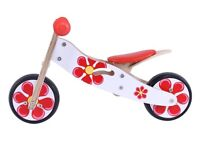 New wooden balance bike kidzmotion in box