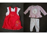 Baby girl's clothes size 0-3months