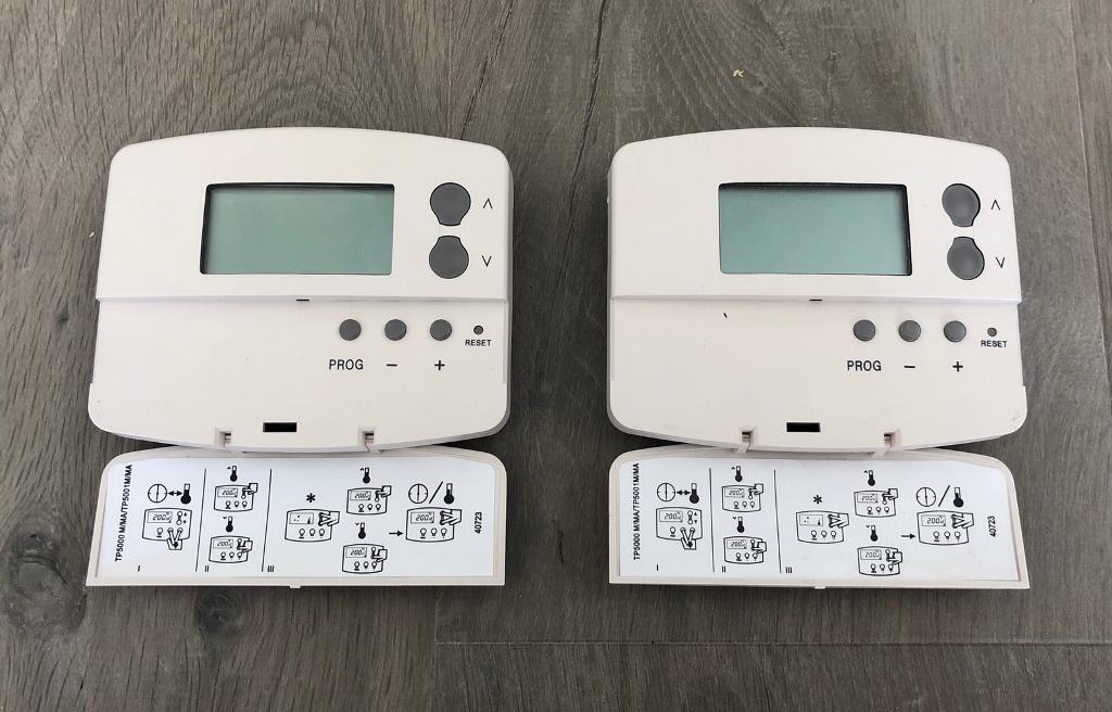 2 X Danfoss Tp5000 Thermostat In Broughton Buckinghamshire Gumtree