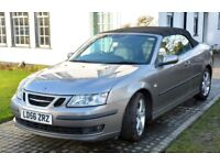 Saab 9-3 1.8t AUTO V Low Miles 37,142 miles Service History Convertible 2006
