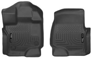 2015-2019 Ford F-150 Front Husky Liner Weatherbeater Floor Liners | Free Shipping at motorwise.ca