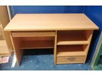Desk, pine finish