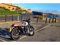 Mutt Mongrell 125cc Based Off Of The 60's Bonneville November 2016 (66 REG)