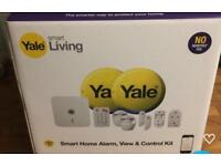 Yale smart alarm, view and control kit