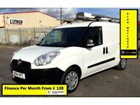 Fiat Doblo Cargo Maxi L2 1.6 LWB 105 / 34k MILES Only,Direct From BT , Full S. History , 1 Yr MOT