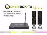 DroidBOX T8 Mini, iMXQpro - Best Android TV BOXes available on UK market. You deserve the best