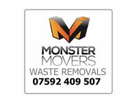 Monster Movers - Rubbish Removal, Waste Removal, Property Clearance,Tip-runs, Rip -out Services