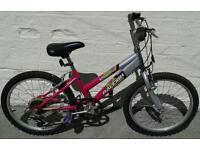 Girls bike 7-9 years