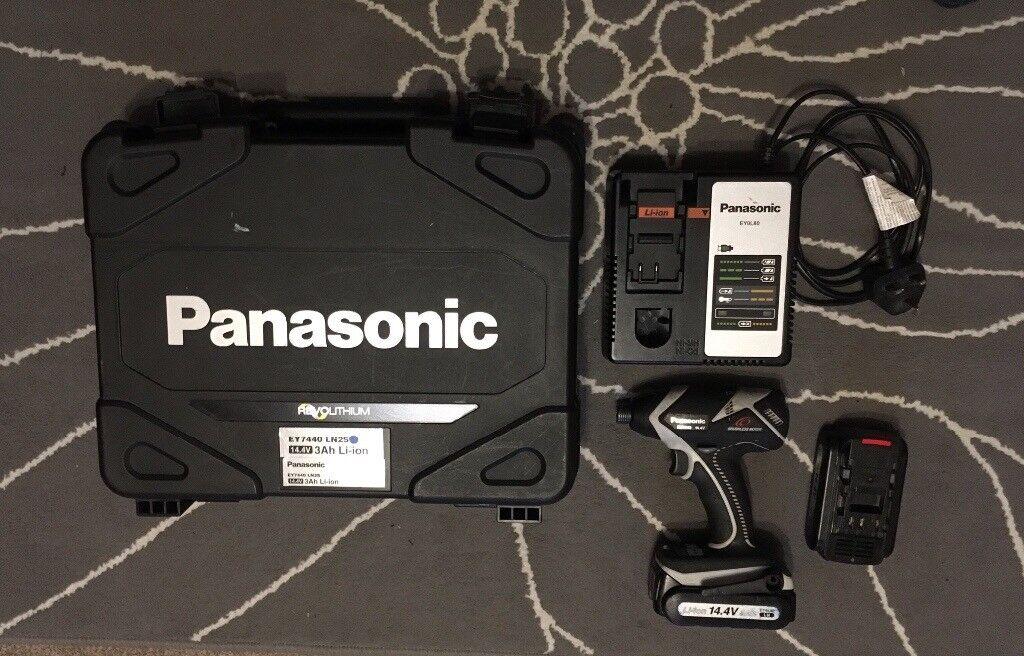Panasonic Impact driver EY7540 . Li-ion 14.4V -3Ah