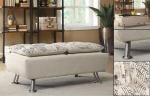 French Fabric Bench - IF-699 in Toronto Furniture Sale (BD-1465)