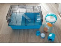 Hamster Cage Bundle Accessories and Food