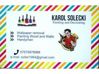 Painter & Decorating & Wallpaper removal & HandyMan