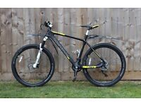 Boardman Pro Carbon Fibre Hardtail Mountain Bike - Size Large (19)