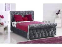 CRUSH VELVET CHESTERFIELD Beds