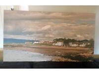 Large canvas picture of Largs