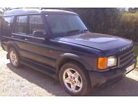 Land Rover Discovery TD5 ES 7seats, beige leather interior, towbar, good runner.