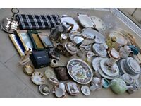Large Amount of Car Boot Items Antiques Vintage Collectables