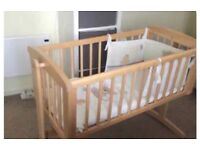 Baby cradle from birth