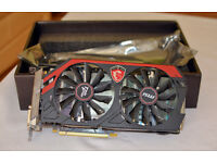 Boxed MSI GeForce GTX 770 Twin Frozr Gaming OC Edition Graphics Card - 2GB GDDR5