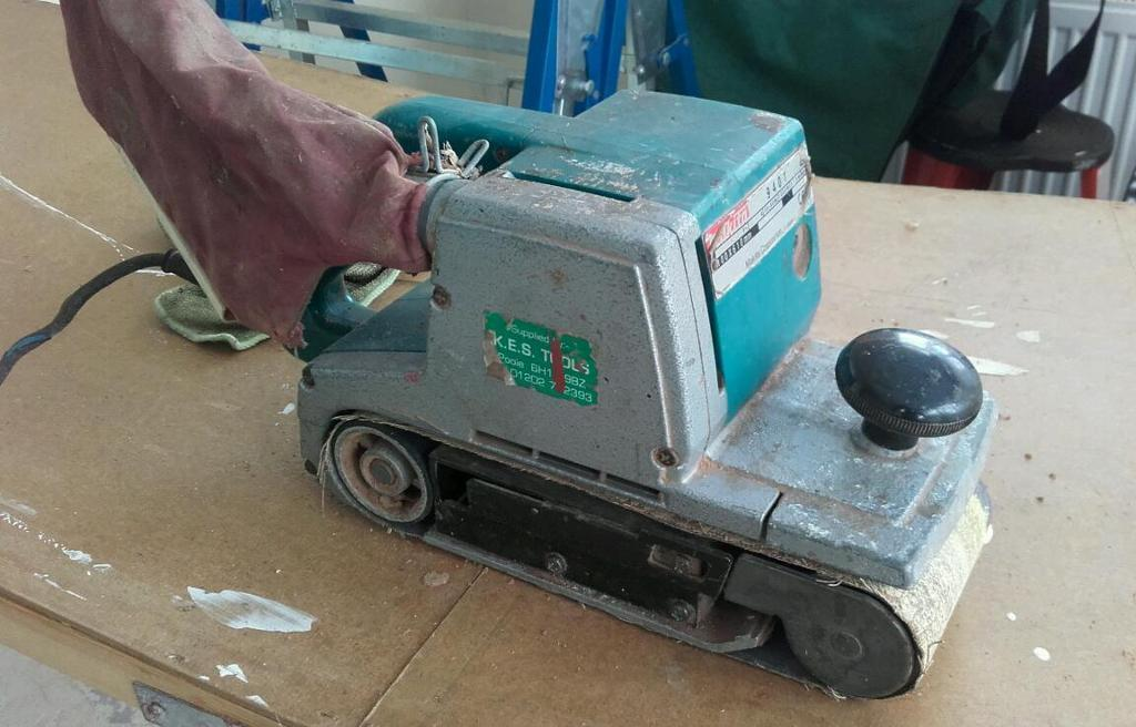 Old Makita 9401 Belt sander 240v | in Poole, Dorset | Gumtree