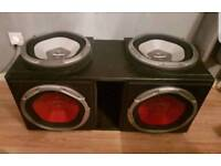 Car audio - Subs and amps
