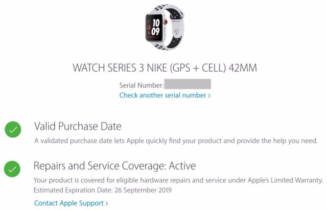 Nike Apple Watch 3  GPS AND Cellular  With Warranty  Cheapest on Gumtree |  in Sutton, London | Gumtree