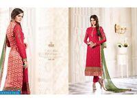 Vivek-Vibrant-Wholesale-Fancy-long-Straight-Salwar-suits-supplier