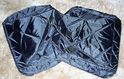 Quilted Nylon Saddle Bags for sale  Shipping to India