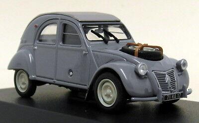 Norev 1/43 Scale 150012 Citroen 2CV 4X4 Sahara 1961 Grey Diecast Model Car