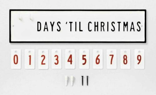 Hearth and Hand Magnolia Advent Days Until Christmas Countdown Calendar