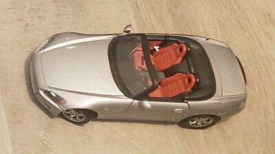 RARE Auto Art HONDA s2000 Silver Roadster 1:18 DIECAST Optional Equip MODEL NIB