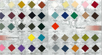 36 Wide Wool Blend Felt Fabric By The Yard