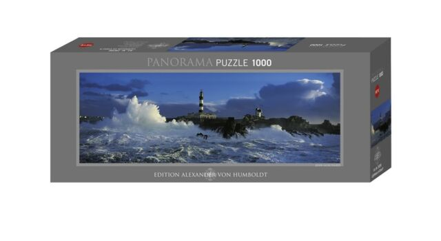 HY29286 - Heye Puzzles - Panorama , 1000 Pc - Lighthouse Le Crach,