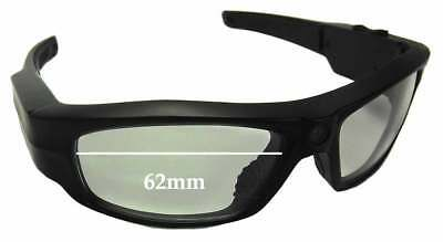 SFx Replacement Sunglass Lenses fits Pivothead - 62mm (Pivothead Sunglasses)