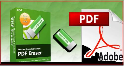 Best Deal PDF Eraser Pro 2019 digital pdf editor lifetime license Delivery eMail