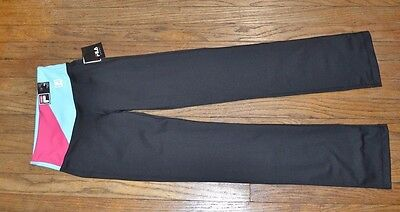 Fila Sport Straight Leg Workout Pant Athletic Gear Yoga Running Gym Crossfit