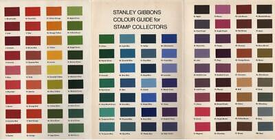 1978 STANLEY GIBBONS COLOUR GUIDE for stamp collectors - Booklet No. 252 (41774)