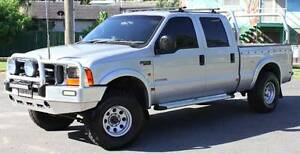 2004 Ford F250 4X4 TURBO DIESEL DUAL CAB REGO AND RWC Southport Gold Coast City Preview