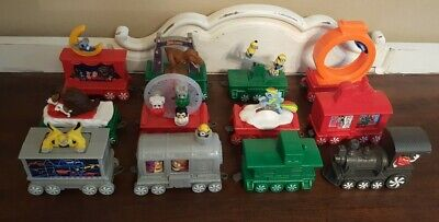 McDonalds Holiday Christmas Express Train Happy Meal Complete Set of 12 2017