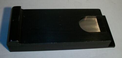 Bay 101 Casino Poker Table Rake Drop Slide. Billet Aluminum & Stainless Steel.
