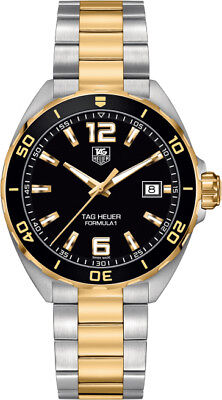 WAZ1121.BB0879 | BRAND NEW TAG HEUER FORMULA 1 41MM TWO-TONE MEN'S WATCH