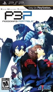 Shin Megami Tensei Persona 3 Portable PSP Game NEW