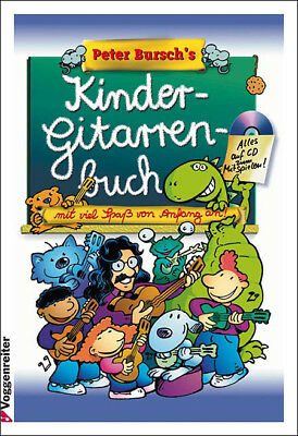 KINDER-GITARRENBUCH +CD v.Peter Bursch +3Pics PORTOFREI
