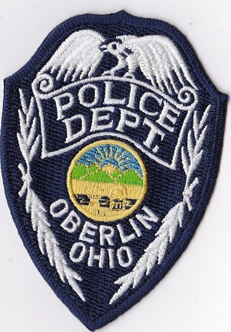 Oberlin Police Patch Ohio OH NEW !!!