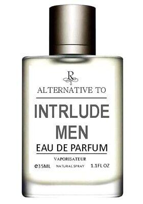 INTERLUDE FOR MEN 55ML EDP PERFUME SPRAY *** PREMIUM QUALITY *** ALTERNATIVE