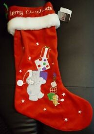 Elliot and Friends Christmas stocking