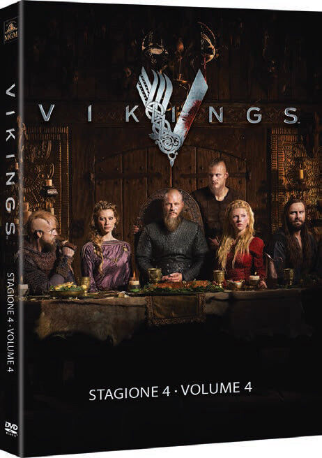 Vikings - Staffel/Season 4 Volume 1 (4.1) [DVD] 3 Disc Deutscher Ton Neuware