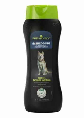 FURminator DeShedding Ultra Premium Conditioner 16 Ounces For Dogs Over 6 Weeks