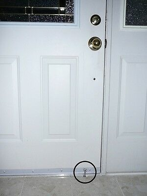 PegLok Home Security Door Blocking Lock - Stop forced entry NOW! Easy and Cheap](Secure Check)